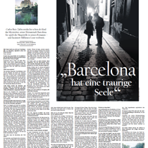 """Barcelona hat eine traurige Seele"" – Carlos Ruis Zafón"